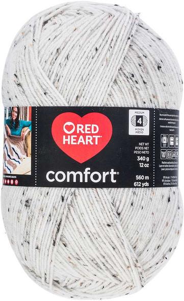 Red Heart Comfort Yarn Cream Fleck