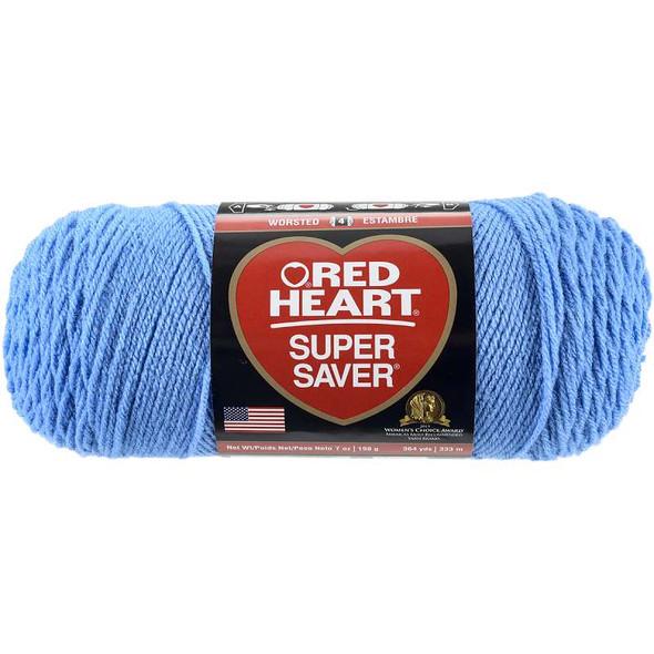 Red Heart Super Saver Yarn Delft Blue