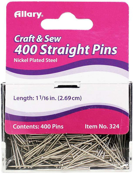 Allary Straight Pins 400/Pkg Size 17