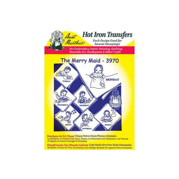Aunt Martha's Iron-On Transfers-Holiday/Traditional/Vintage