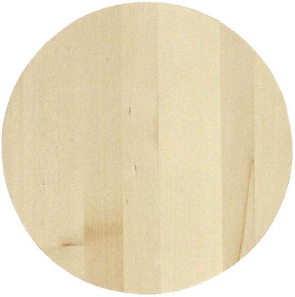 "Basswood Circle Panel 8""X.75"""