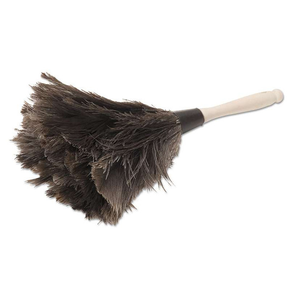 """Boardwalk® Professional Ostrich Feather Duster, 4"""" Handle"""