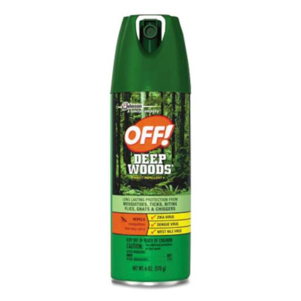 Diversey Deep Woods®  OFF!® Aerosol Insect Repellents