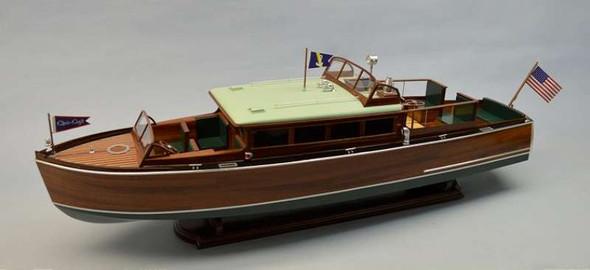 "Dumas 1273 1:12 38"" 1929 Chris Craft 38' Commuter Boat Kit"