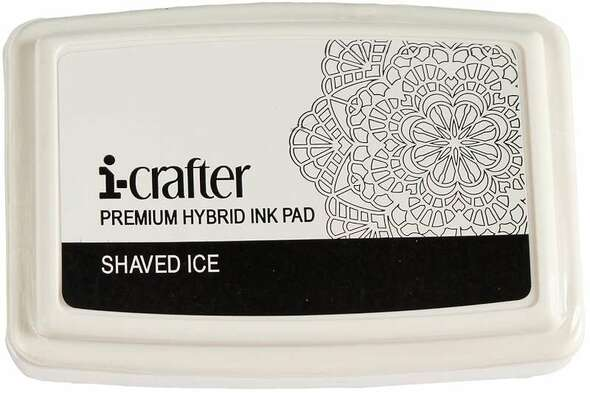 i-crafter Hybrid Ink Pad Shaved Ice