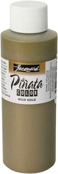 Jacquard Pinata Color Alcohol Ink 4oz Rich Gold