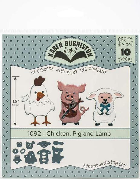 Karen Burniston Dies Chicken, Pig & Lamb