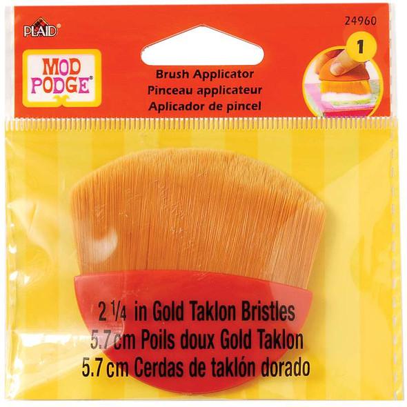 "Mod Podge Brush Applicator 2.25"" Gold Taklon"