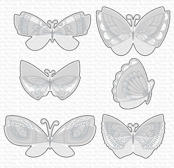My Favorite Things Die-namics Die Brilliant Butterflies