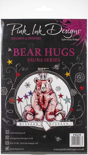 Pink Ink Designs A5 Clear Stamp Set Bear Hugs