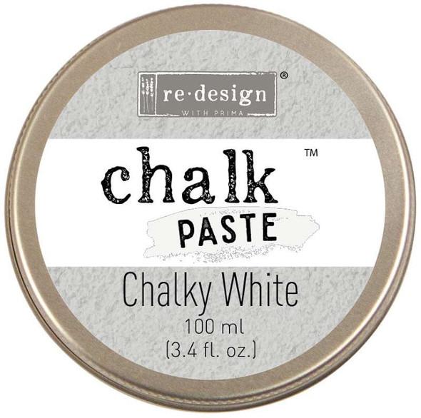 Prima Re-Design Chalk Paste 100ml Chalky White