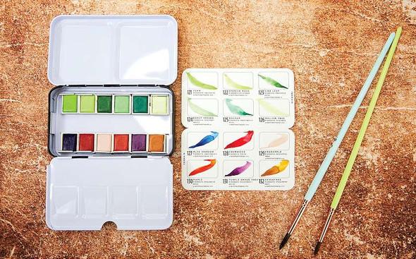 Prima Watercolor Confections Watercolor Pans 12/Pkg Terrain