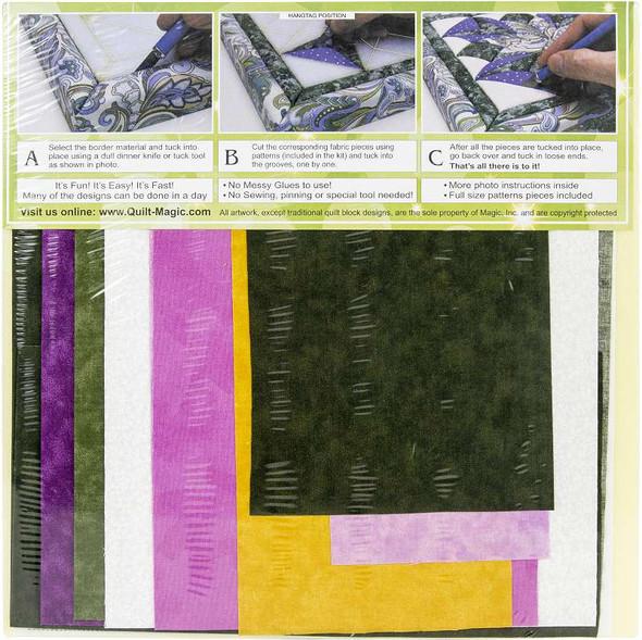 Quilt-Magic No Sew Wall Hanging Kit Evening Star