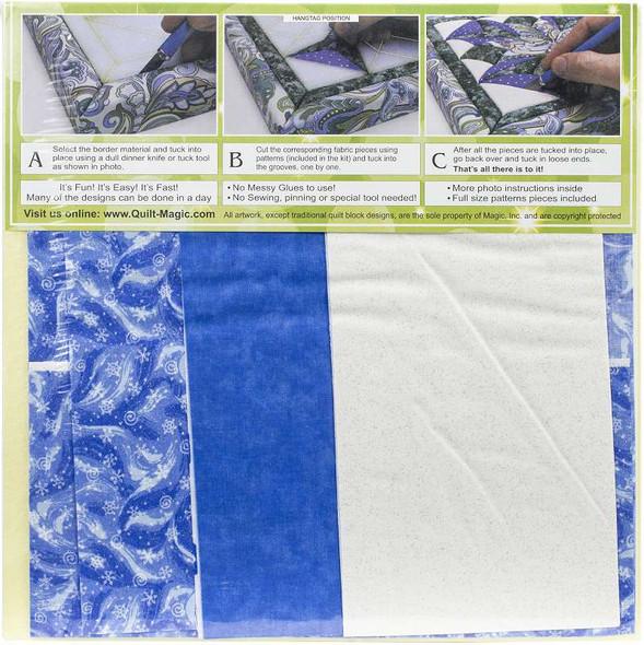 Quilt-Magic No Sew Wall Hanging Kit Snowflake