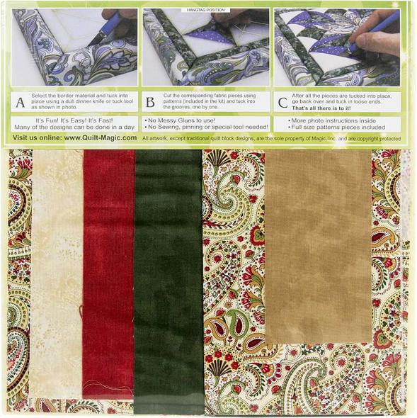 Quilt-Magic No Sew Wall Hanging Kit Teapot