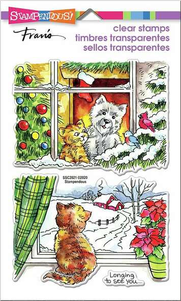 Stampendous Perfectly Clear Stamps Window Views