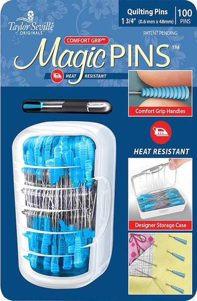 Taylor Seville Magic Pins 100/Pkg
