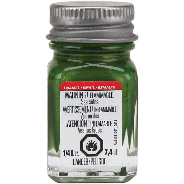 Testors Enamel Paint .25oz Bright Lime Gloss
