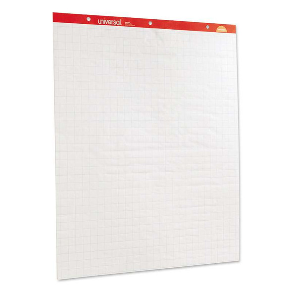 Universal® Deluxe Sugarcane Based Easel Pads, 27 x 34, White, 50 Sheet, 2/Pack