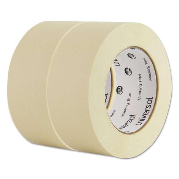 "Universal® General Purpose Masking Tape, 48mm x 54.8m, 3"" Core, 2/Pack"