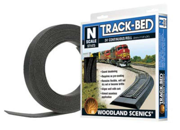 Woodland Scenics Track-Bed Roll - N Scale