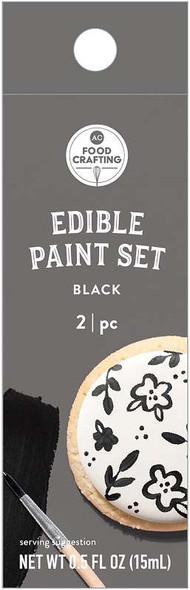 AC Food Crafting Edible Paint .5oz Black