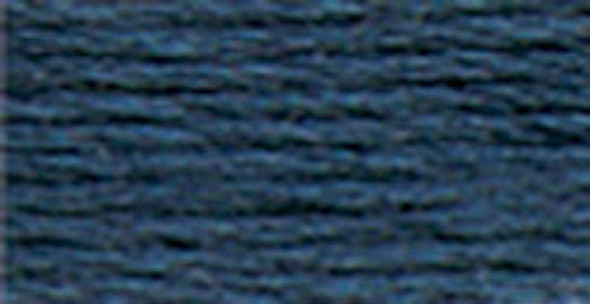 Anchor 6-Strand Embroidery Floss 8.75yd Antique Blue Very Dark