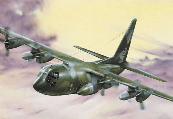 C-130E/H Hercules, 1/72 by Italeri, Model Airplane