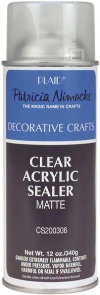 Clear Acrylic Sealer Aerosol Spray 12oz Matte