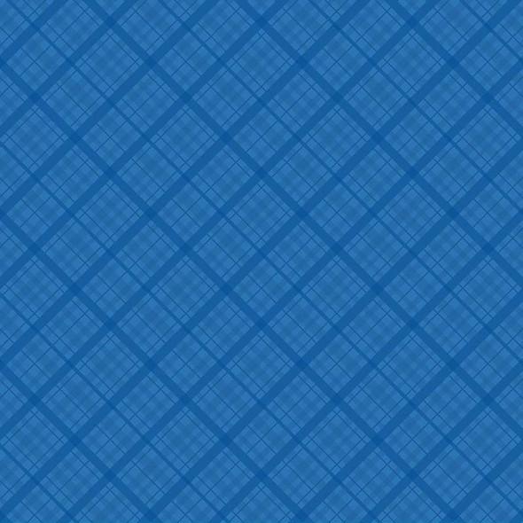 "Core'dinations Core Basics Patterned Cardstock 12""X12"" Dark Blue Plaid"