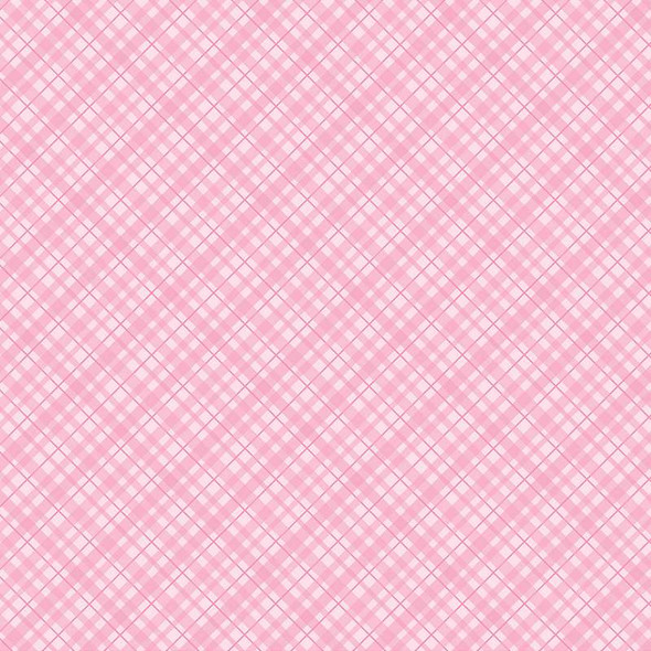 """Core'dinations Core Basics Patterned Cardstock 12""""X12"""" Light Pink Plaid"""