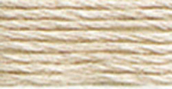 DMC Pearl Cotton Skein Size 5 27.3yd Ultra Very Light Beige Brown