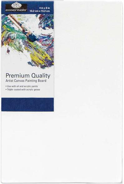 """essentials(TM) Premium Canvas Board 4""""X6"""""""