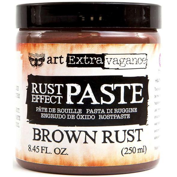 Finnabair Art Extravagence Rust Effect Paste 8.45oz Brown