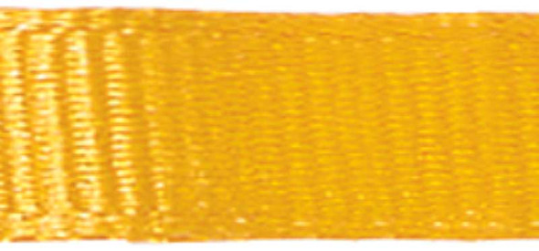 "Grosgrain Ribbon 3/8""X18' Yellow Gold"