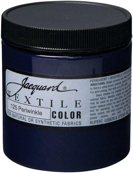 Jacquard Textile Color Fabric Paint 8oz Periwinkle