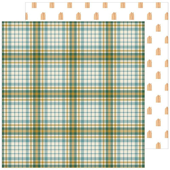 """Jen Hadfield The Avenue Double-Sided Cardstock 12""""X12"""" Fourth Ave."""