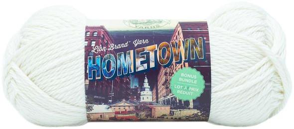 Lion Brand Hometown Bonus Bundle Yarn Houston Cream
