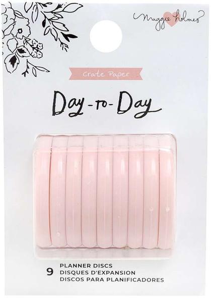 """Maggie Holmes Day-To-Day Planner Discs 2.75""""X4"""" 9/Pkg Blush"""