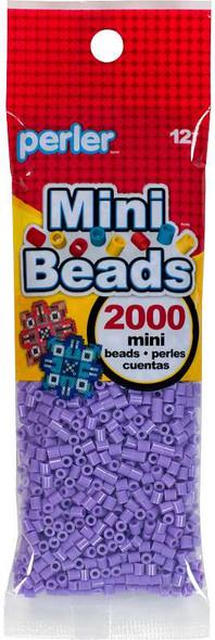 Mini Perler Beads 2000/Pkg Pastel Lavendar