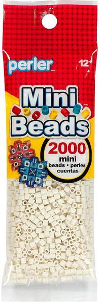 Mini Perler Beads 2000/Pkg Toasted Marshmellow