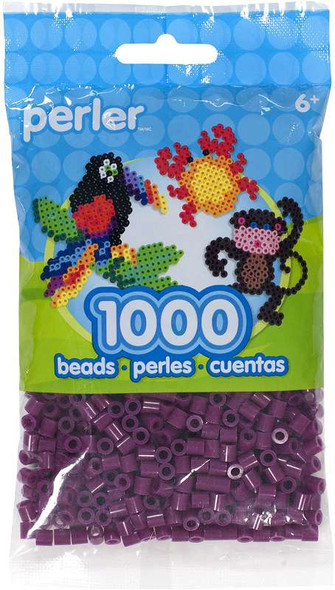 Perler Beads 1,000/Pkg Eggplant