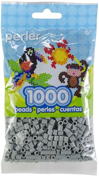 Perler Beads 1,000/Pkg Pewter