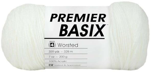 Premier Yarns Basix Yarn White
