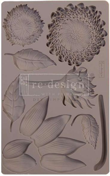 "Prima Marketing Re-Design Mould 5""X8""X8mm Forest Treasures"