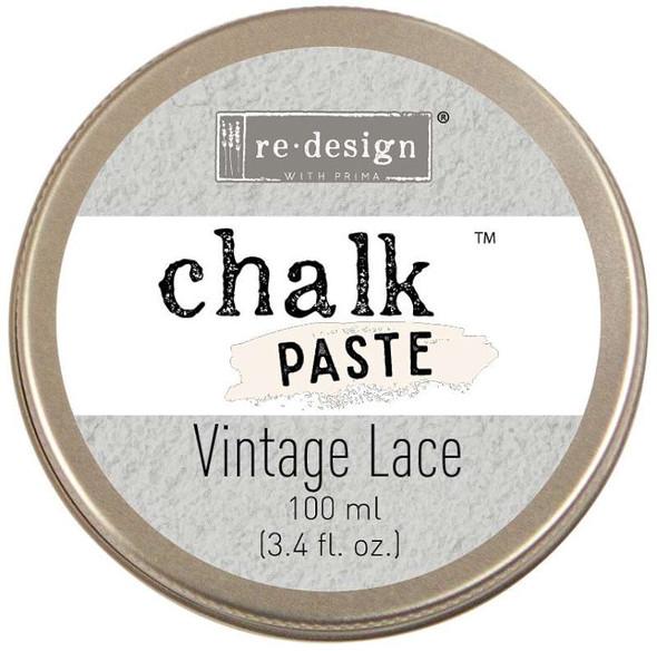 Prima Re-Design Chalk Paste 100ml Vintage Lace