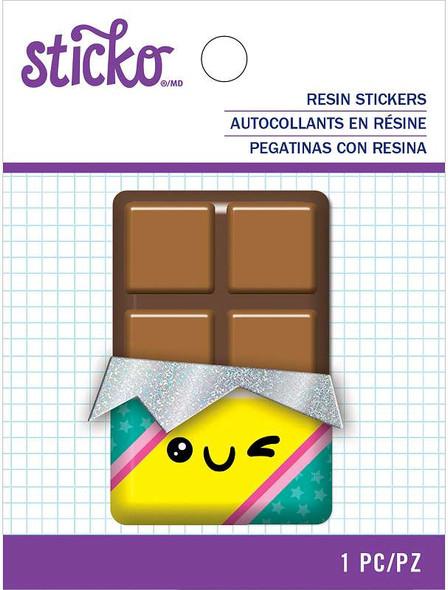 Sticko Resin Sticker Chocolate Bar