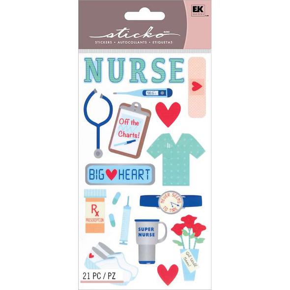 Sticko Stickers Nurse