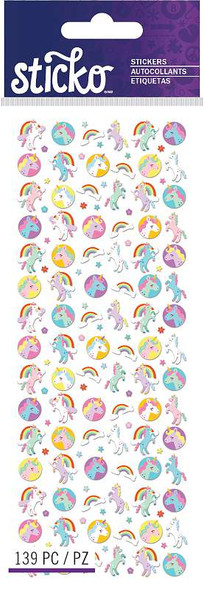 Sticko Tiny Stickers Unicorn