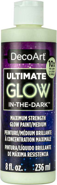 Ultimate Glow-In-The-Dark Paint 8oz